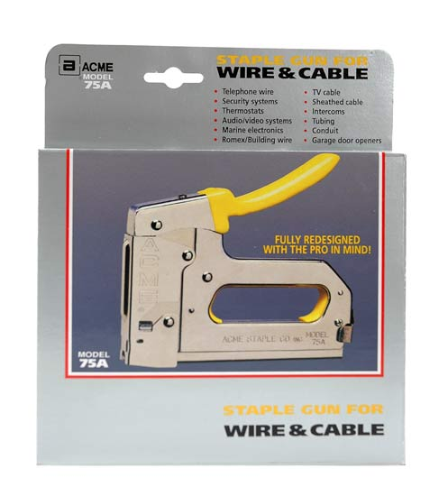 Acme 75A Staple gun for NM building wire in package - icon