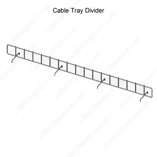 Raised Floor Cable Tray System AFF-CTD242