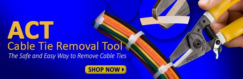 ACT cable tie removal tools