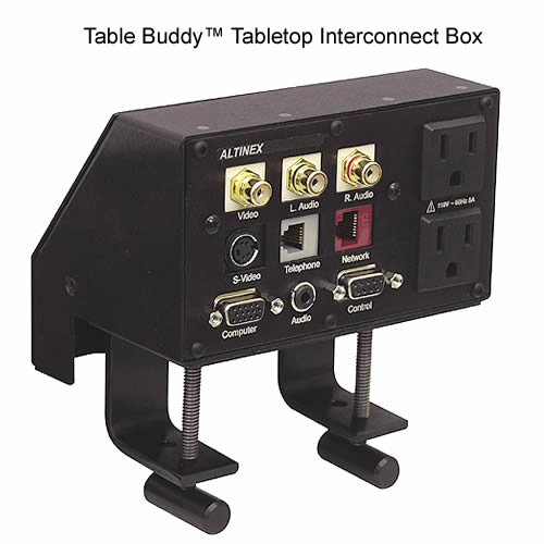 Table Buddy™ Tabletop Interconnect Box PDC-TBL102