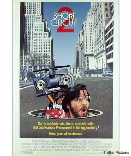 movie poster for Short Circuit 2