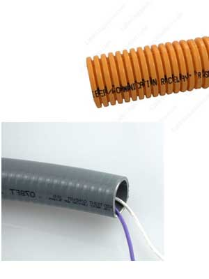 Examples of PVC flexible conduit