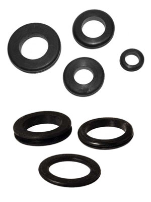 Rubber Grommet Bumpers in Various Sizes