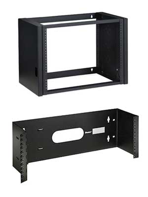 Examples of Pivot and Hinged Open Wall Mount Racks