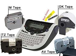 Brother PTouch Label Tapes