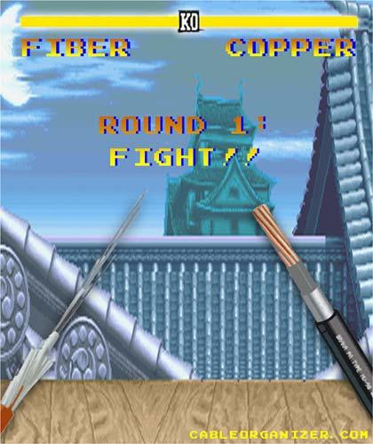 copper versus fiber optic cables