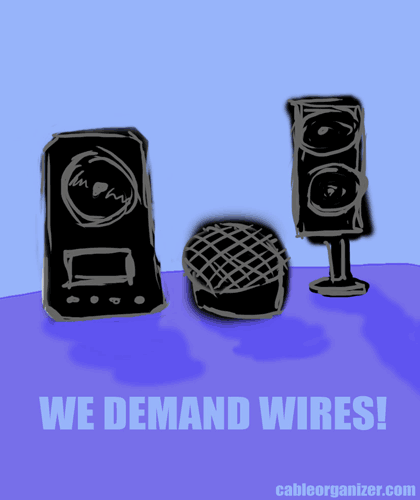 speakers that want wires
