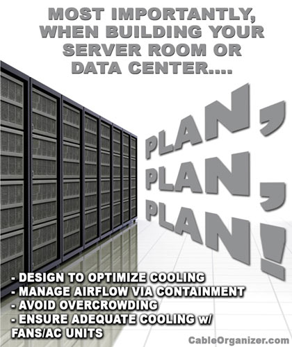 Plan Your Data Center to Optimize Proper Airflow