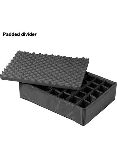 B&W International Specialty Outdoor Protective case padded divider icon