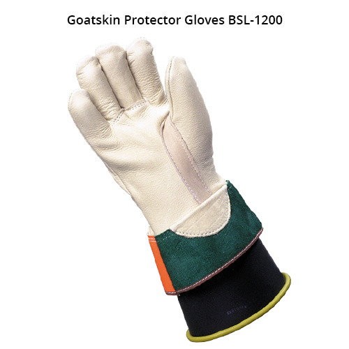 bashlin ppe lineworker protector gloves in goatskin icon