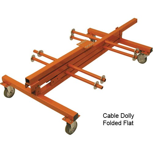 Cable Dolly, folded flat icon
