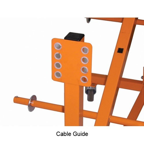 Close view of Cable Dolly cable guide icon