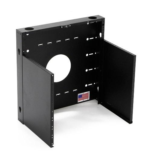 BlackHawk Labs MiniRaQ 8U Open Vertical Wallmount Rack - icon