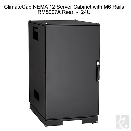 ClimateCab NEMA 12 Server Cabinet with M6 Rails - icon