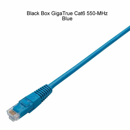Black Box GigaTrue Cat6 550 Mhz UTP Patch Cables in blue - Icon