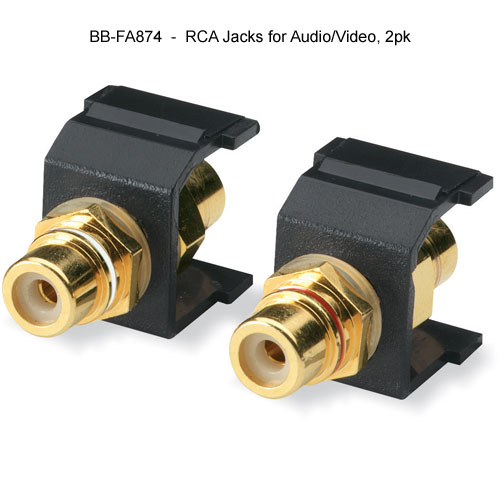 Black Box RCA Jacks for Audio and Video - Icon