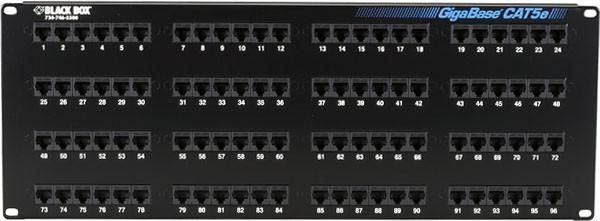 3908349 Shielded Patch Cord Black Box Network Services Gigabase 3 Cat5e