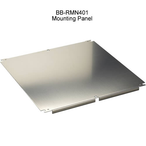 Black Box DataSafe NEMA outdoor cabinet mounting panel - Icon