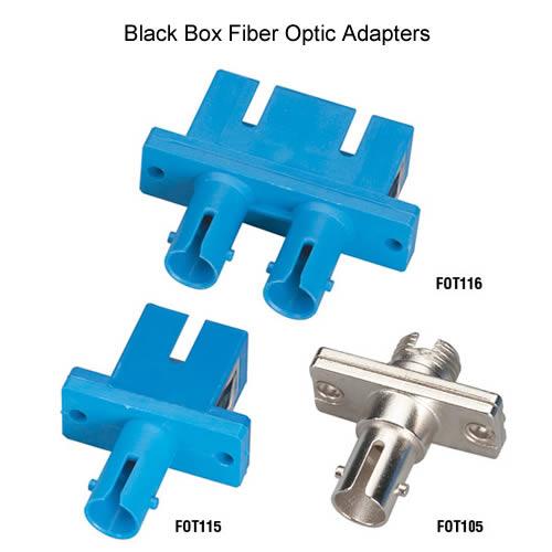 Black Box  fiber optic adapters, Multimode Duplex Rectangular Mounting, Multimode Simplex Rectangular Mounting and Multimode Simplex Rectangular - Icon