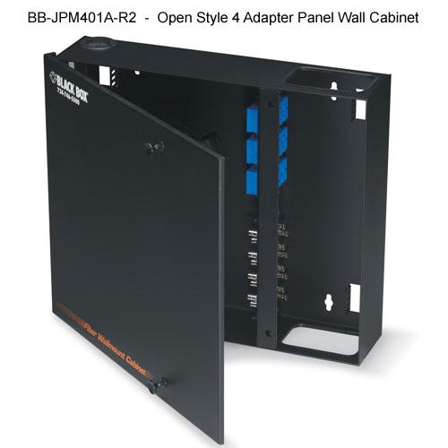Black Box Fiber Optic lock style wall cabinet - Icon