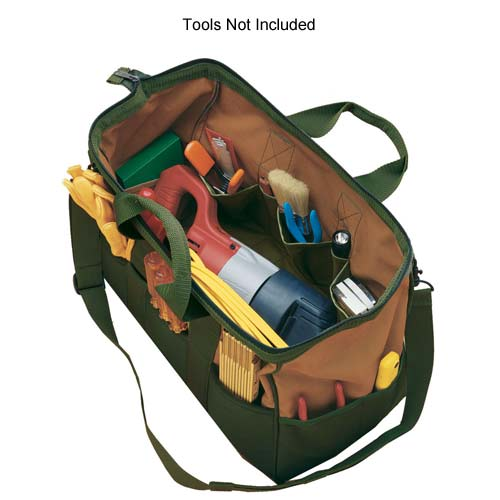 Gatemouth Tool Bag open and with tools - icon
