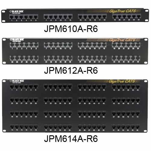 Black Box Network Services CAT6 Patch Panel  24-Port