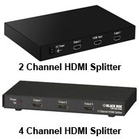 2 Channel HDMI Splitter