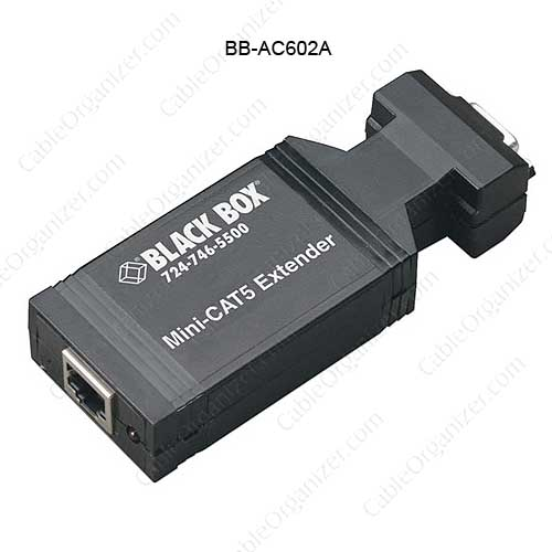 lack Box Mini Cat5 VGA Receiver - icon