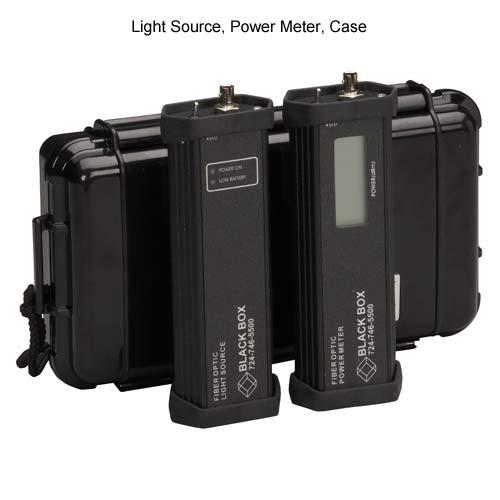 Black Box multimode test set - light source, power meter, case - icon