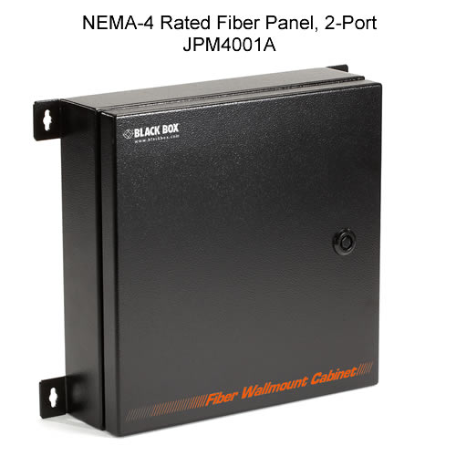 NEMA-4 Rated Fiber Panel, 2-Port - icon