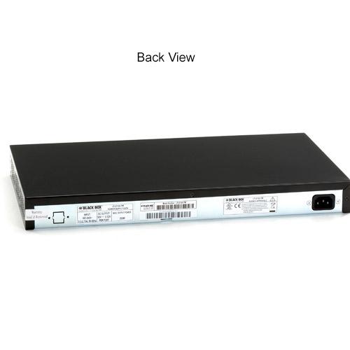 Black Box 802.3 PoE Gigabit Injectors Back View - icon