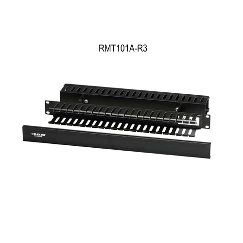 Black Box Horizontal Rackmount Cable Raceways Cable manager model RMT101A-R3 - Icon