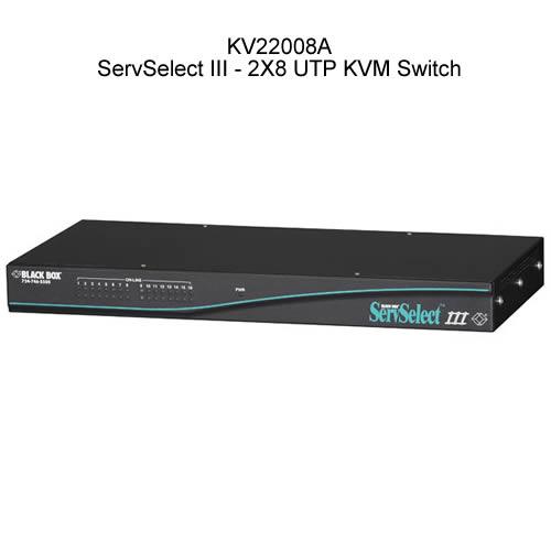 Black Box ServSelect III 2 by 8 UTP KVM Switch - Icon