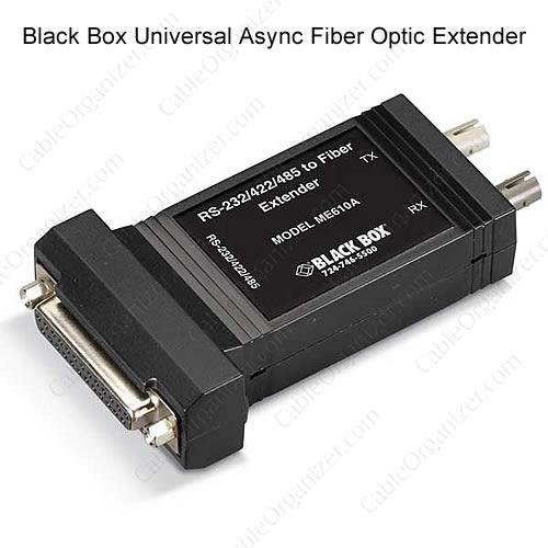 Black Box Universal Async Fiber Optic Extender