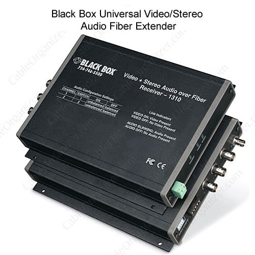 Video/Stereo Audio Fiber Extender Receiver - icon