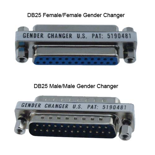 Black Box VoiceData Tool kit DB25 femalefemale and malemale gender changers - Icon