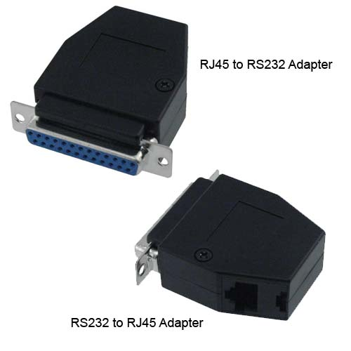 Black Box VoiceData Tool kit RJ45 to RS232 and RS232 to RJ45 adapters - Icon