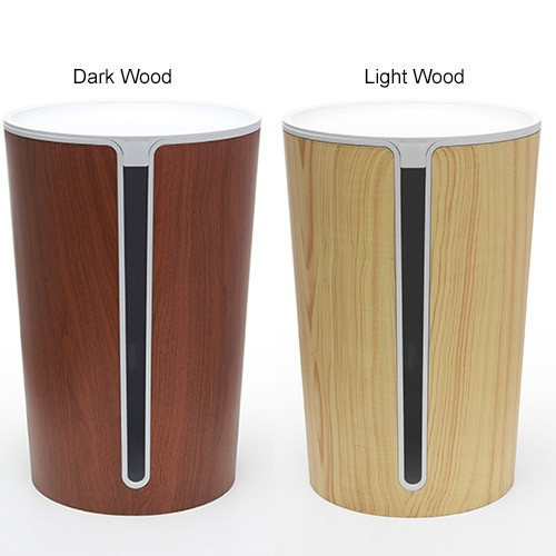 BlueLounge® CableBin Cable Manager Dark and Light Wood - icon