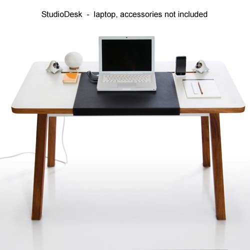 BlueLounge Designs StudioDesk, front view - Icon