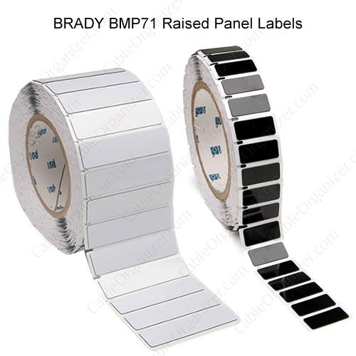 Raised Panel Black Labels  - icon