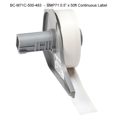 Brady BMP71 BradyBondz Thermal Transfer Labels, continuous label - Icon