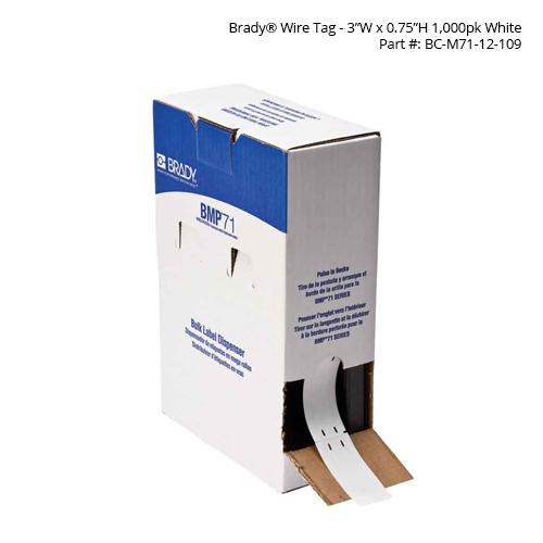 Brady BMP71 Tags in box dispenser - Icon