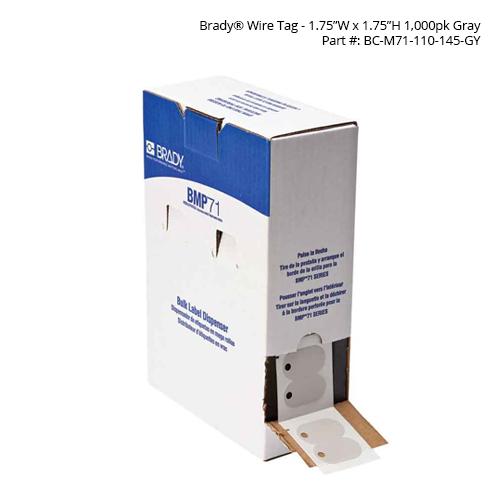 Brady BMP71 Flags in dispenser box - Icon