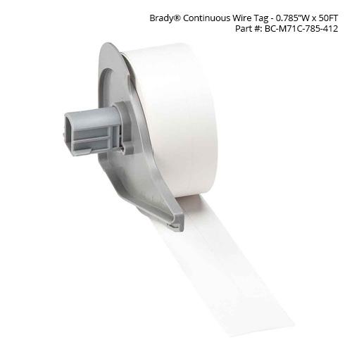 Brady BMP71 Tags on spool - Icon