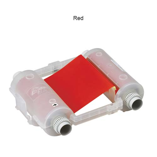 Brady BMP 71 Thermal Transfer Labels in red - Icon