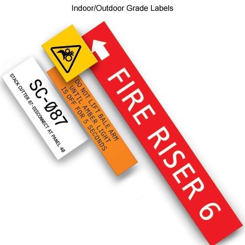 IDxpert indoor outdoor grade labels - icon