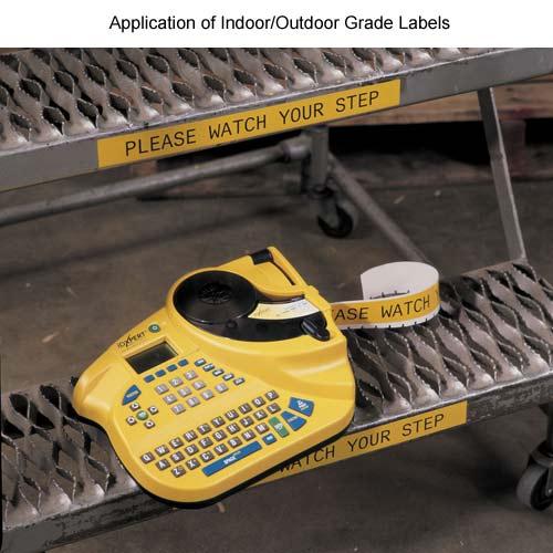 application of indoor outdoor grade labels - icon