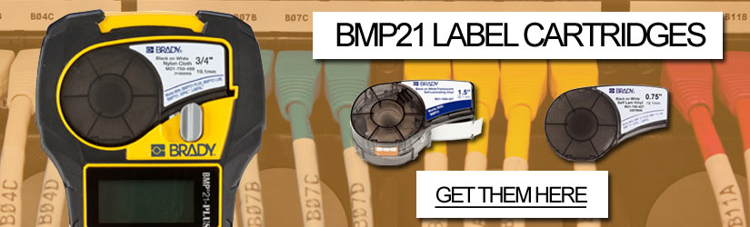 Brady BMP21 label cartridges