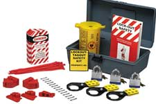 Brady lockout/tagout kits