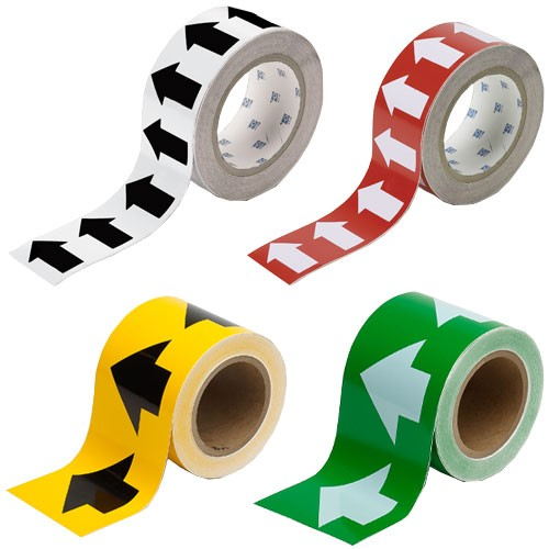 Brady directional pipe marker banding tape - Icon